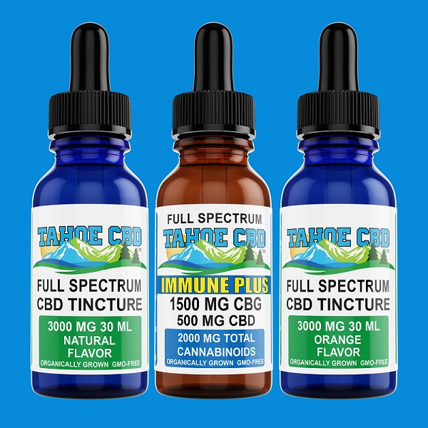 Full Spectrum CBD in Raleigh, CBG Oil Tinctures
